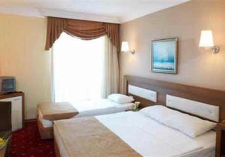 Bayan Havuz Brandası veya Otopark Manzaralıdır.Balkonludur. 22 Metrekare genişliğinde ,İçerisinde 1 adet 2 kişilik yatak,1 adet tek kişilik yatak mevcuttur.Ekstra 1 adet ek yatak ilave yapılabilir.Maksimum 3+1 kişi konaklayabilir.<div></div>